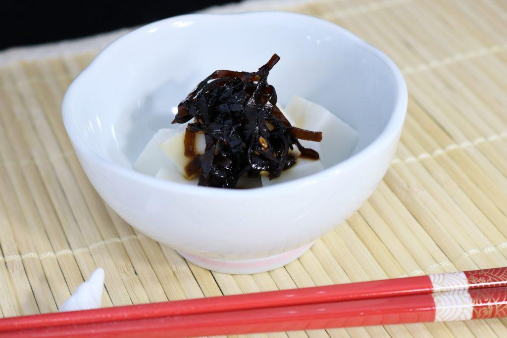 ごま昆布ごま豆腐